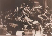 1959 with Howard Brubeck with New York Philharmonic Orchestra