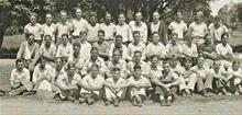 Dave Brubeck Ione High School Sports Team ( back row 6th from LHS)