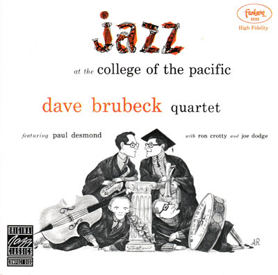 Jazz at the College Of The Pacific  - Album cover
