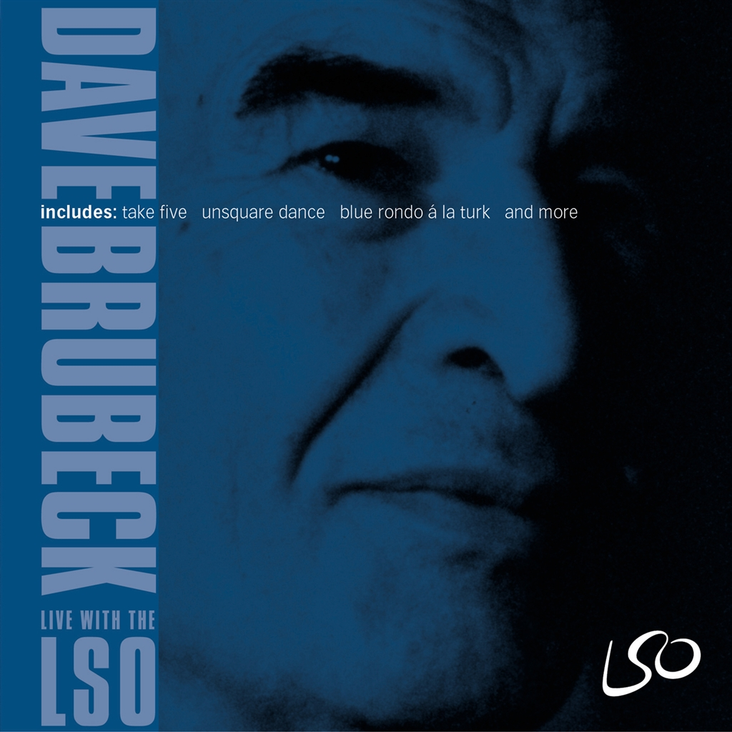 Dave Brubeck: Live with the LSO - Album cover