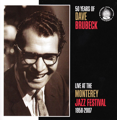 50 Years of DB Live at the The Monterey Jazz Festival, 1958-2007 - Album cover