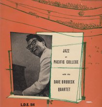 Jazz at the College Of The Pacific  - Vogue - LP cover
