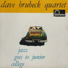 Jazz Goes to Junior College  - Fontana LP cover