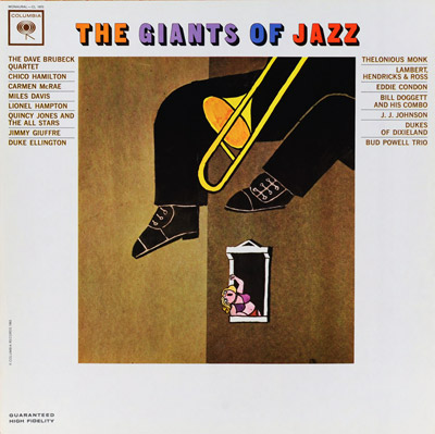 The Giants of Jazz  - LP cover
