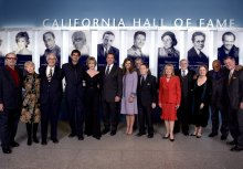 Dave with fellow Inductees into California Hall of Fame, 2008.
