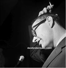 Paul Desmond, backstage, Newport Jazz Festival, unknown date.
