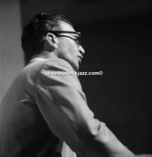 Dave Brubeck, Newport Jazz Festival, unknown date.