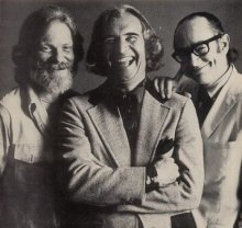Gerry Mulligan, Dave Brubeck and Paul Desmond, early 1970's