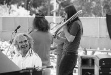 July 6 1973,Chris and Dave at Newport Jazz Festival in New York. (AP Photo-Marty Lederhandler)