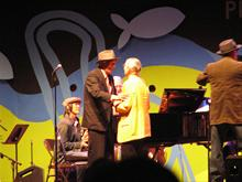 Newport Jazz Festival . Performance of 'Cannery Row'.