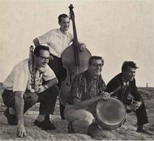 Paul Desmond, Norman Bates, Joe Dodge, Dave Brubeck circa 1956