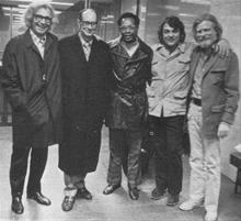 Dave, Paul, Alan Dawson, Jack Six, Gerry Mulligan - circa 1970