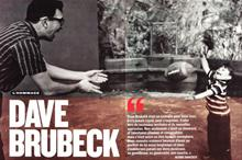 Image used in French Jazz magazine after Dave's death - shows Dave and Danny playing at home.