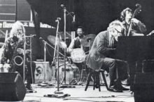 1972, in concert - Gerry Mulligan, Alan Dawson, Dave Brubeck and Jack Six
