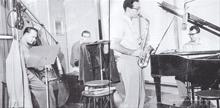 Bob Bates, Joe Dodge, Paul Desmond and Dave Brubeck