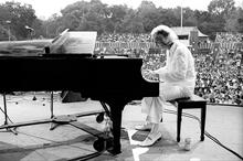 Dave Brubeck, Central Park, New York,  1970's