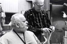 London 2003. Recording 'Classical Brubeck' with Bobby Militello.