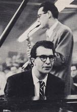 Dave Brubeck and Paul Desmond,1950's, image used on Fantasy EP 4011 cover