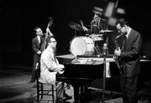 Look Up & Live TV Show, 1955 ,  Norman Bates, Dave Brubeck, Joe Dodge and Paul Desmond