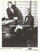 Dave Brubeck and manager Russell Gloyd