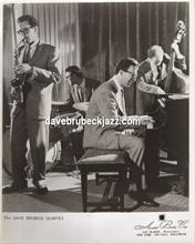 Paul Desmond, Joe Dodge, Dave Brubeck and Ron Crotty
