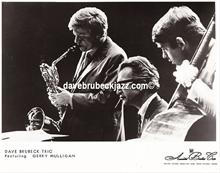 Gerry Mulligan, Dave Brubeck 