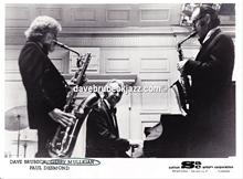 Gerry Mulligan, Dave Brubeck and Paul Desmond