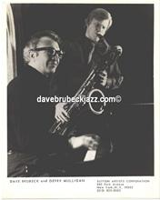 Dave Brubeck and Gerry Mulligan