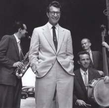 1952; Paul Desmond, Dave Brubeck, Lloyd Davis and Ron Crotty