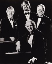 Randy Jones, Chris Brubeck, Jack Six and Dave Brubeck.