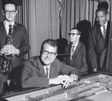 The Classic Quartet, 1960's.  Paul Desmond, Dave Brubeck, Joe Morello and Eugene Wright