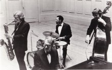Gerry Mulligan, Dave Brubeck, Alan Dawson and Jack Six