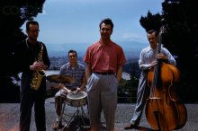 Paul Desmond, Joe Dodge, Dave Brubeck and Norman Bates