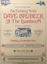 1979, New Brubeck Quartet, Bardavon Opera House, New York