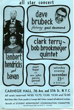 Carnegie Hall, Unknown date, 1960's