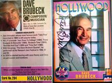 Hollywood Hall of Fame card ( courtesy, Donna Havel)