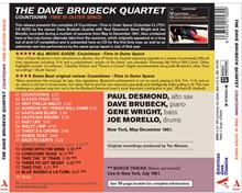 Countdown: Time ln Outer Space - CD back cover - American Jazz Classics
