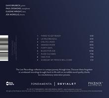 Live At The Kurhaus  - CD LP back cover