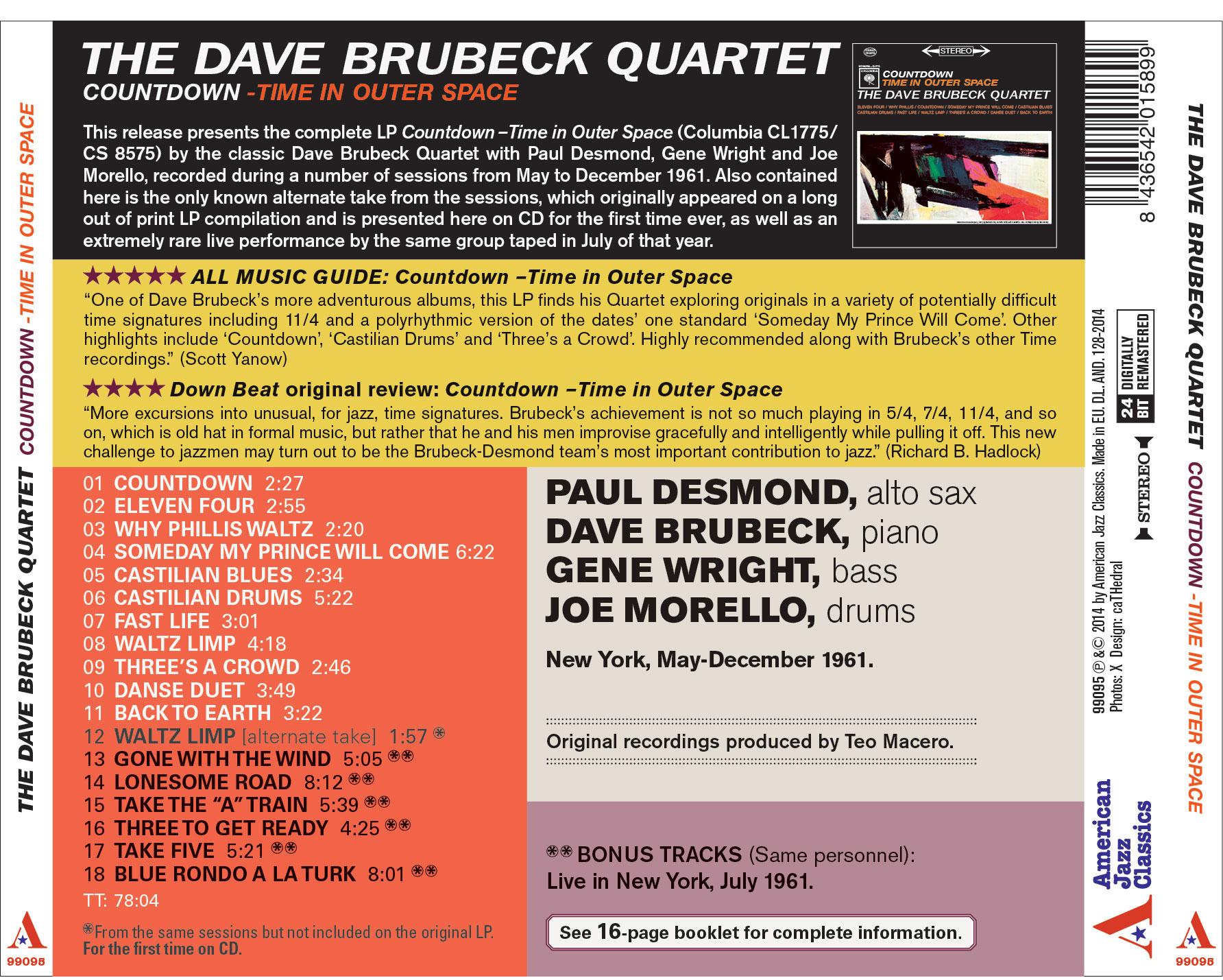 dave brubeck quartet time out album download