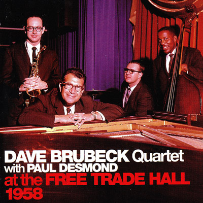 Dave Brubeck with Paul Desmond at the Free Trade Hall, 1958 - CD cover