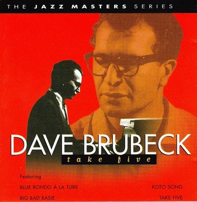 Take Five, Dave Brubeck                                                              - CD cover