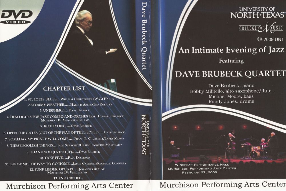 Winspear Performance Hall, University Of North Texas, Murchison Performance Arts Center - DVD Image