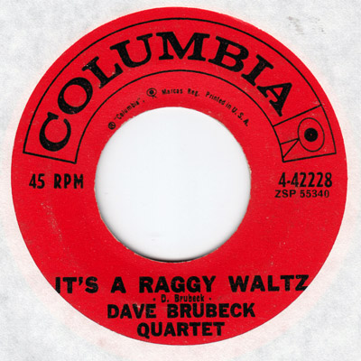 It's a Raggy Waltz - 45